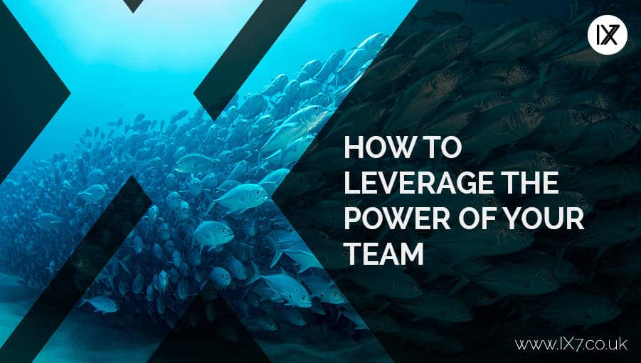 How to leverage the power of your team