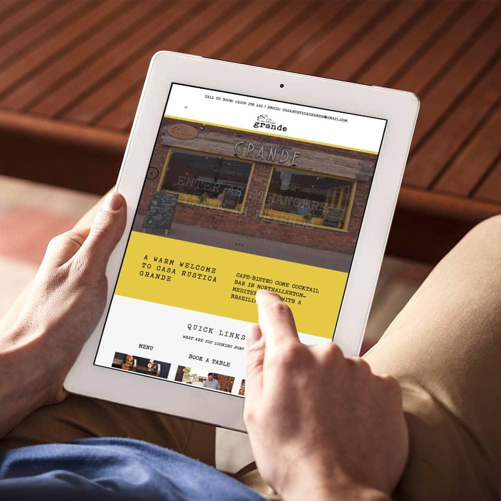 Casa Rustica Grande - New web site