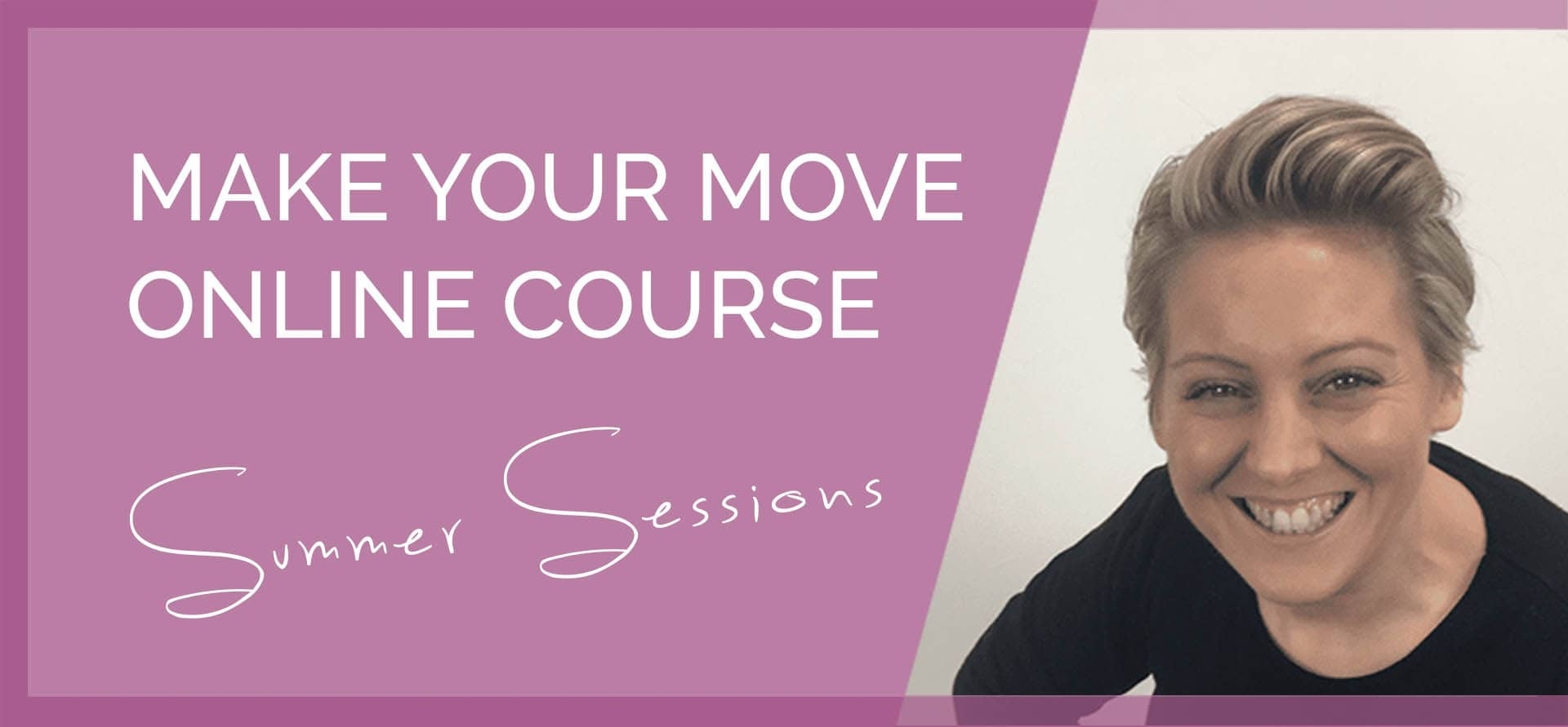 Online coaching programme - Make Your Move